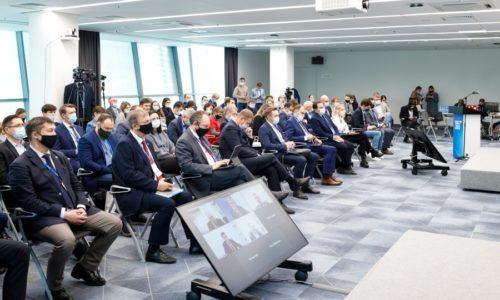 Презентация Международного строительного чемпионата на 100+ Forum Russia